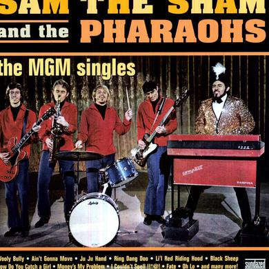 Sam The Sham & Pharaohs MGM SINGLES Vinyl Record