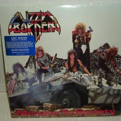 Lizzy Borden MENACE TO SOCIETY Vinyl Record