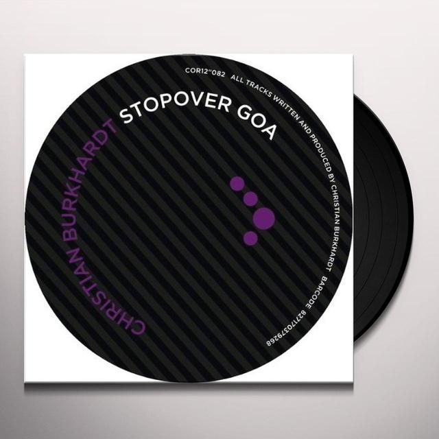 Christian Burkhardt STOPOVER GOA (EP) Vinyl Record