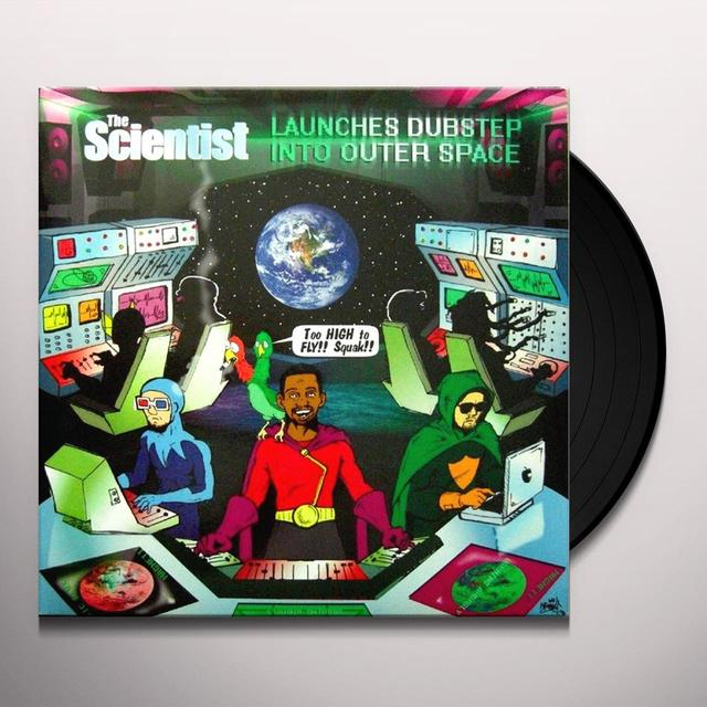 SCIENTIST LAUNCHES DUBSTEP INTO OUTER SPACE Vinyl Record