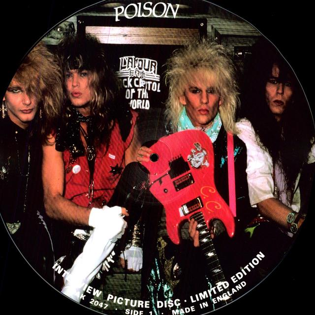 Poison INTERVIEW Vinyl Record - Picture Disc
