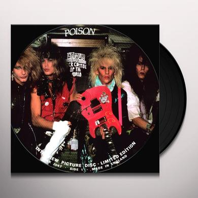Poison INTERVIEW Vinyl Record
