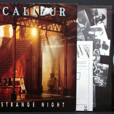 Excalibur ONE STRANGE NIGHT Vinyl Record