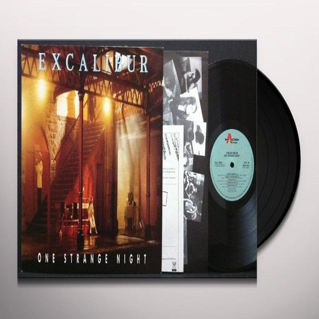 Excalibur ONE STRANGE NIGHT Vinyl Record