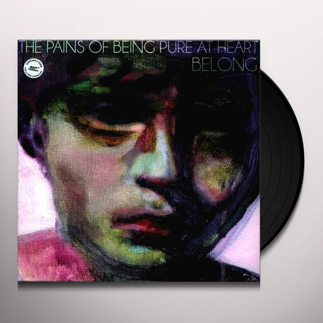 The Pains Of Being Pure At Heart BELONG Vinyl Record - Digital Download Included