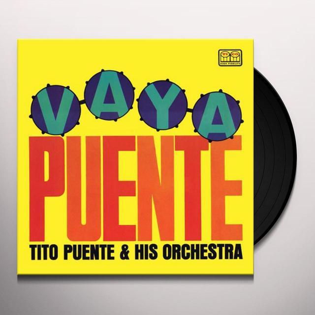 Tito Puente VAYA PUENTE Vinyl Record