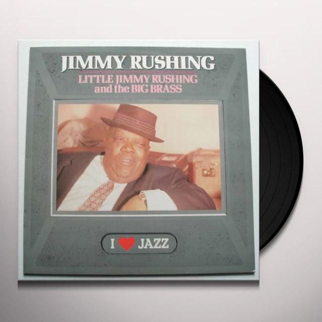 LITTLE JIMMY RUSHING & THE BIG BRASS Vinyl Record