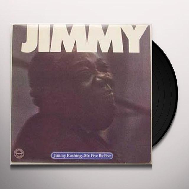 Jimmy Rushing MR FIVE BY FIVE Vinyl Record