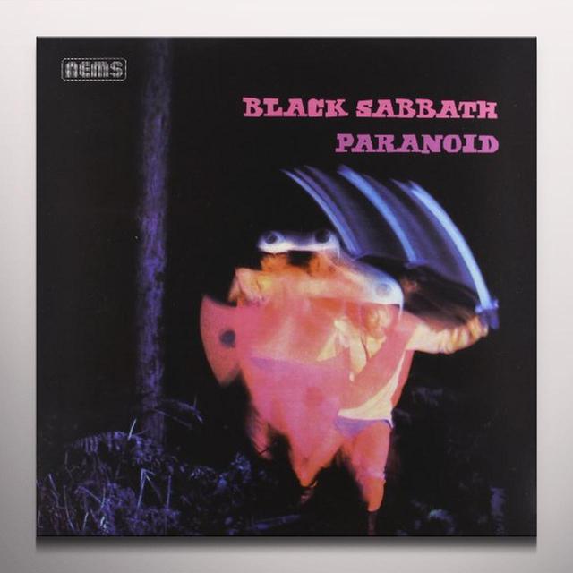 Black Sabbath PARANOID Vinyl Record - Colored Vinyl