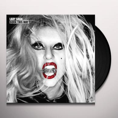 Lady Gaga BORN THIS WAY Vinyl Record