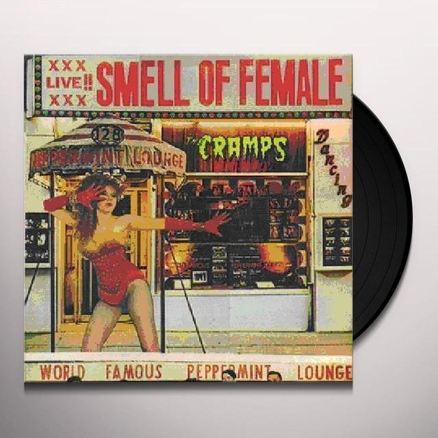 The Cramps SMELL OF FEMALE Vinyl Record - UK Import
