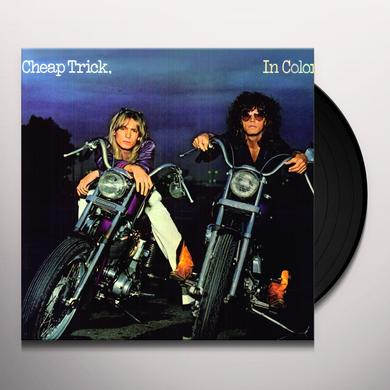 Cheap Trick IN COLOR Vinyl Record - Limited Edition, 180 Gram Pressing