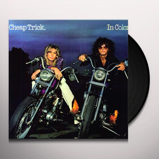 Cheap Trick IN COLOR Vinyl Record