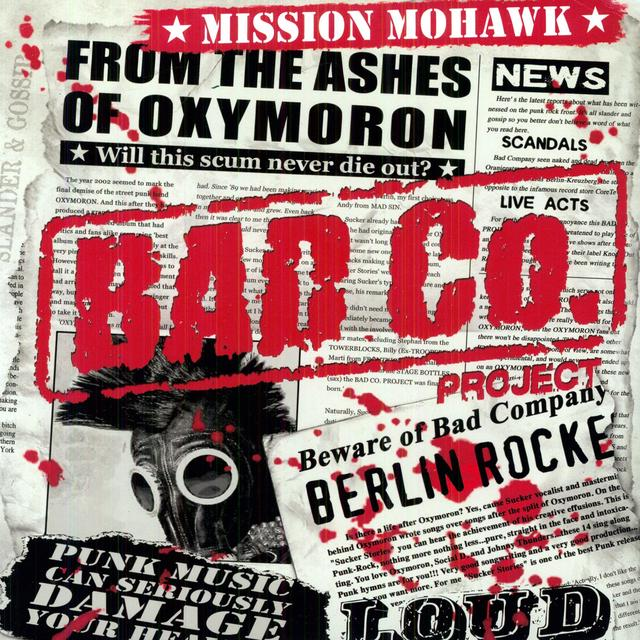 Bad Co Project MISSION MOHAWK Vinyl Record
