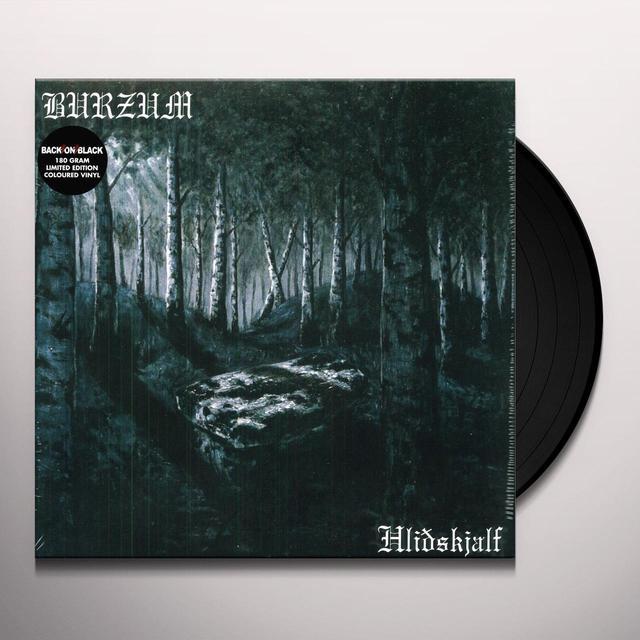 Burzum HLIDHSKJALF Vinyl Record