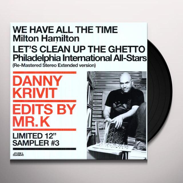 Danny Krivit EDITS BY MR K SAMPLER 3 Vinyl Record