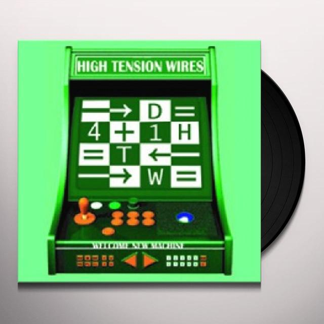 High Tension Wires WELCOME NEW MACHINE Vinyl Record - Digital Download Included