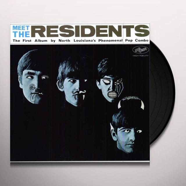 MEET THE RESIDENTS Vinyl Record