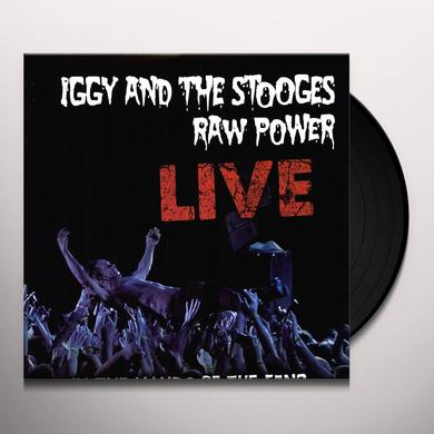 Iggy and the Stooges RAW POWER: LIVE Vinyl Record