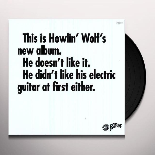 HOWLIN WOLF ALBUM Vinyl Record