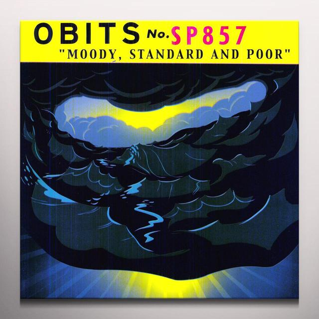 Obits MOODY STANDARD & POOR Vinyl Record - Colored Vinyl
