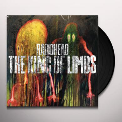 Radiohead KING OF LIMBS Vinyl Record - 180 Gram Pressing