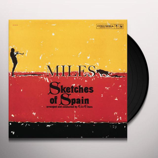Miles Davis SKETCHES OF SPAIN (BONUS TRACK) Vinyl Record - 180 Gram Pressing
