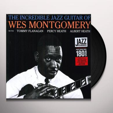 Wes Montgomery INCREDIBLE JAZZ GUITAR Vinyl Record - 180 Gram Pressing