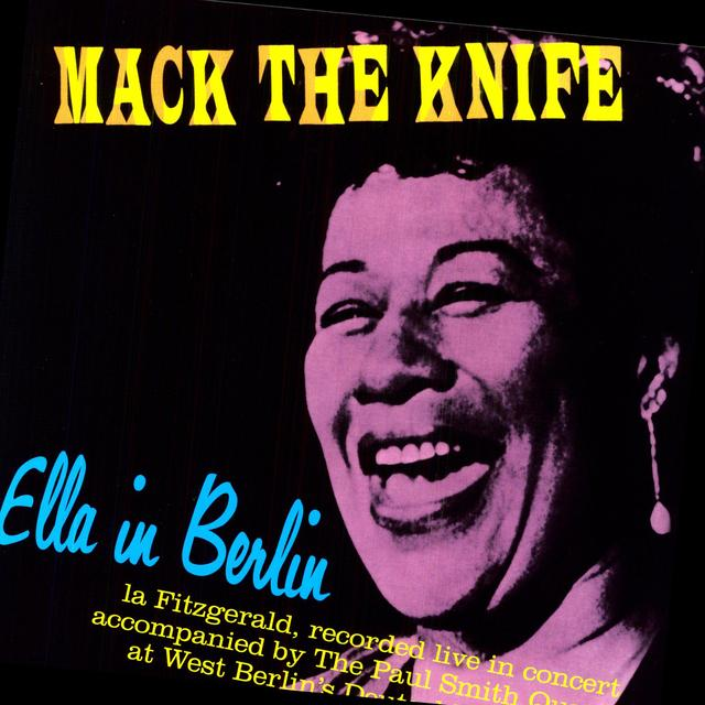 Ella Fitzgerald MACK THE KINFE: ELLA IN BERLIN (BONUS TRACKS) Vinyl Record