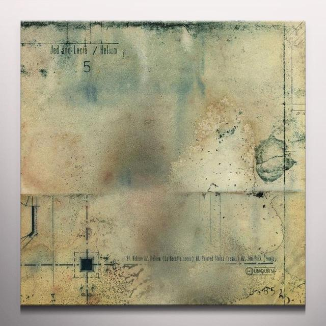 Jed & Lucia HELIUM / PAINTED STAIRS  (EP) Vinyl Record - Colored Vinyl, Limited Edition