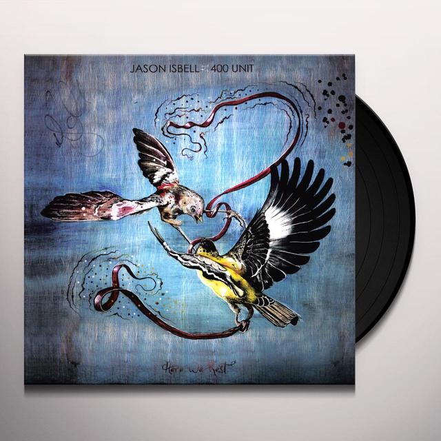 Jason / 400 Unit Isbell HERE WE REST Vinyl Record