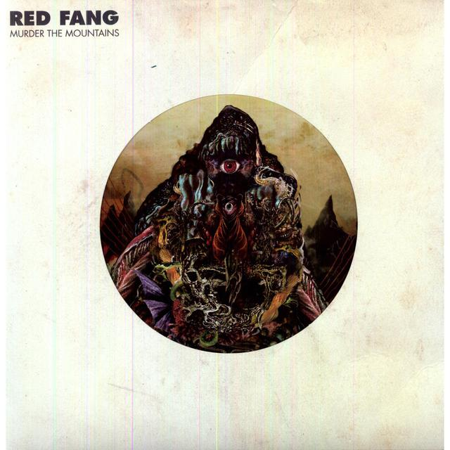 Red Fang MURDER THE MOUNTAINS Vinyl Record