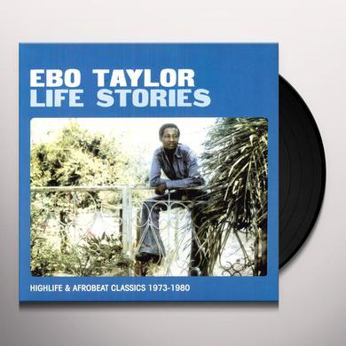 Ebo Taylor LIFE STORIES Vinyl Record