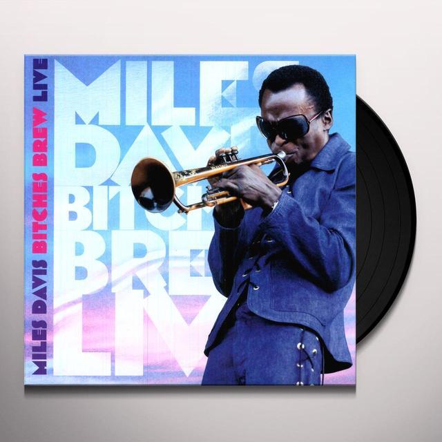 Miles Davis BITCHES BREW Vinyl Record - Holland Import