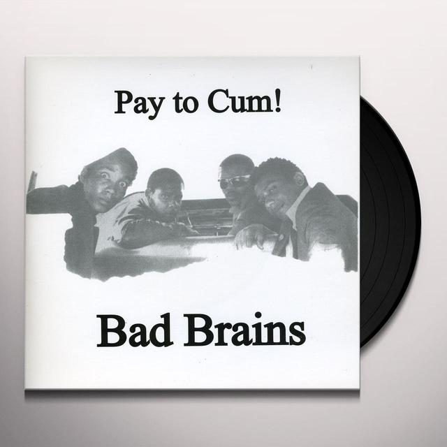 Bad Brains PAY TO CUM Vinyl Record