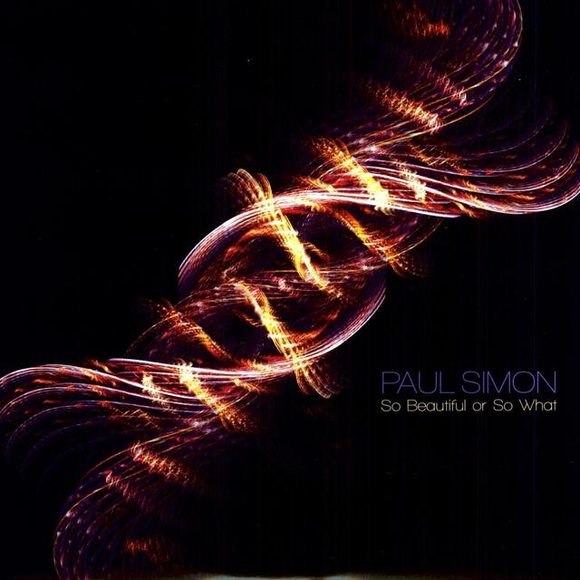Paul Simon SO BEAUTIFUL OR SO WHAT Vinyl Record