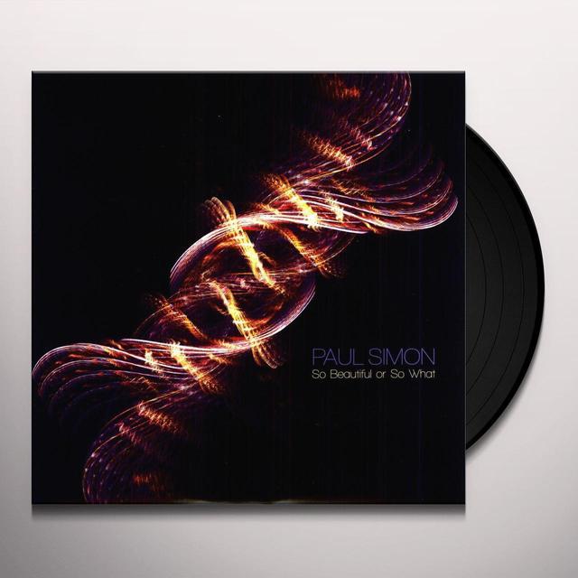 Paul Simon SO BEAUTIFUL OR SO WHAT Vinyl Record - 180 Gram Pressing