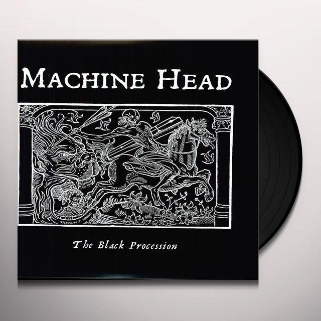 Machine Head BLACK PROCESSION Vinyl Record - Limited Edition