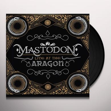 Mastodon LIVE AT THE ARAGON Vinyl Record