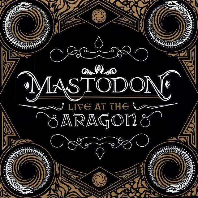 Mastodon LIVE AT THE ARAGON (BONUS DVD) Vinyl Record - Limited Edition, 180 Gram Pressing