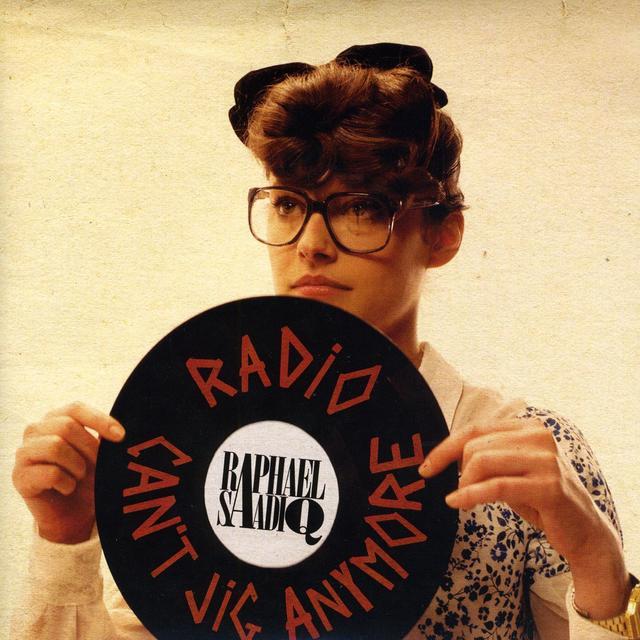 Raphael Saddiq RADIO / CAN'T JIG ANYMORE Vinyl Record