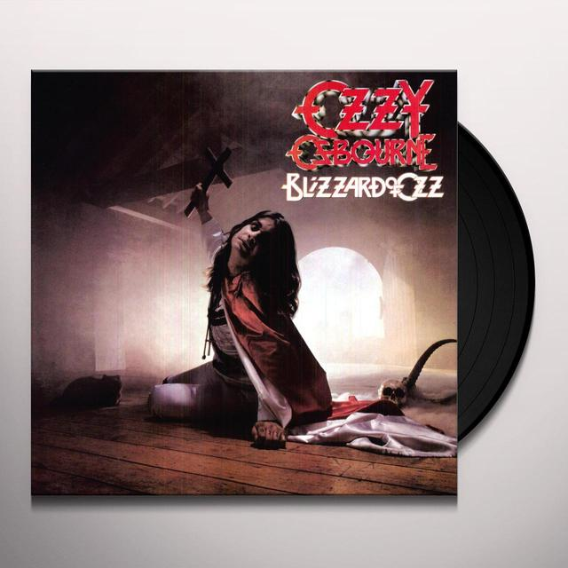 Ozzy Osbourne BLIZZARD OF OZ Vinyl Record