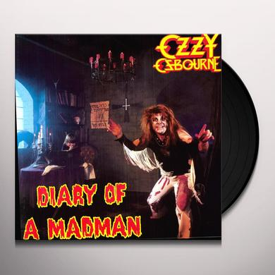 Ozzy Osbourne DIARY OF A MADMAN Vinyl Record