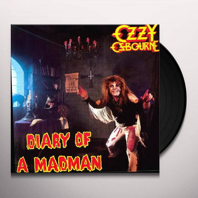 Ozzy Osbourne DIARY OF A MADMAN Vinyl Record - 180 Gram Pressing, Remastered