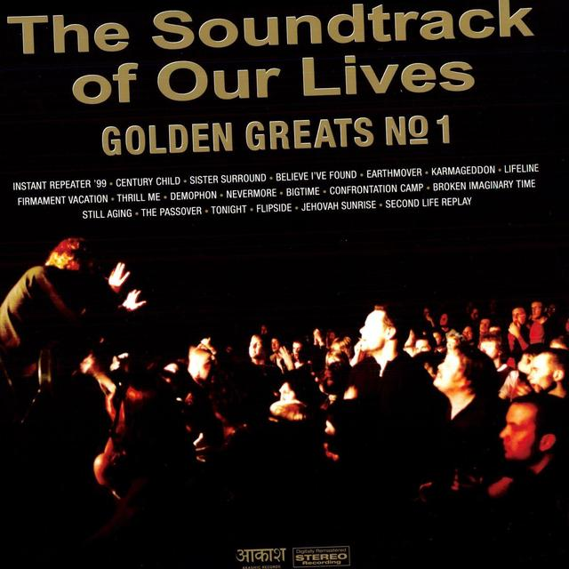 The Soundtrack Of Our Lives GOLDEN GREATS 1 Vinyl Record