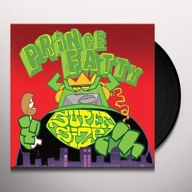 Prince Fatty SUPERSIZE Vinyl Record