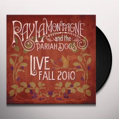 Ray Lamontagne LIVE FALL 2010 Vinyl Record - 180 Gram Pressing