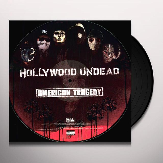 Hollywood Undead AMERICAN TRAGEDY Vinyl Record - Picture Disc