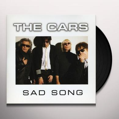 The Cars SAD SONG Vinyl Record