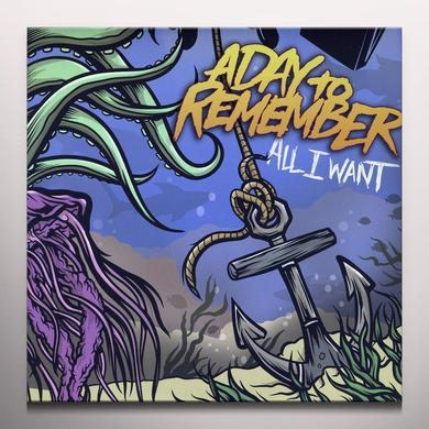 A Day To Remember ALL I WANT Vinyl Record - Colored Vinyl
